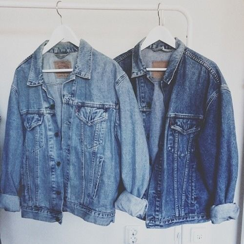 Denim jackets are a must