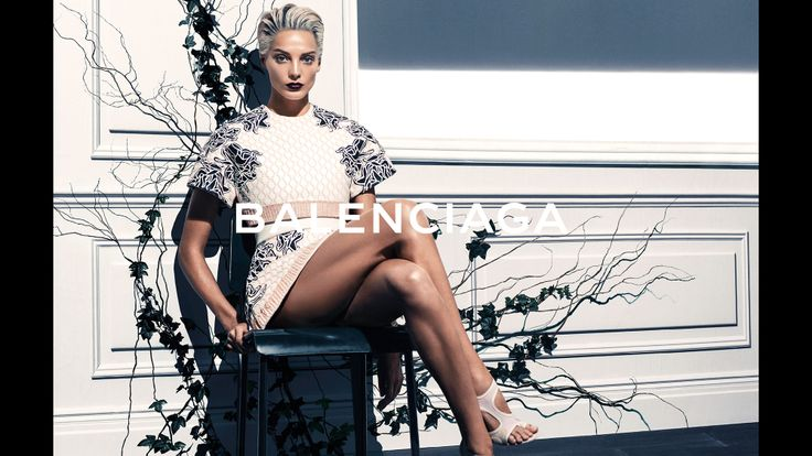 Balenciaga Campaign Spring 2014 Model: Daria Werbowy Photographer: Steven Klein