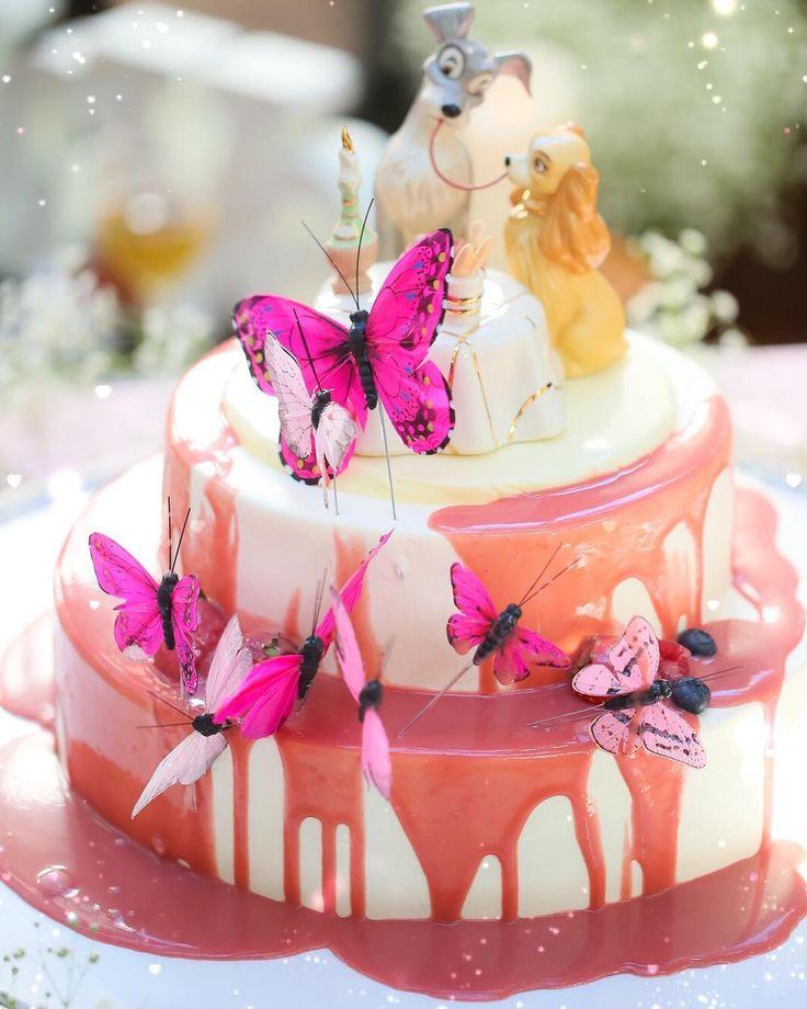 インスタで見つけた♡可愛すぎるウェディングケーキデザイン* | marry[マリー]