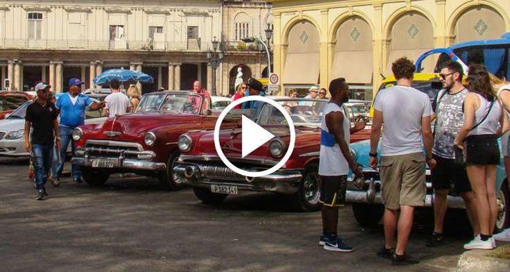 Guías turísticos particulares ofrecen en Cuba sus servicios al margen de los profesionales acreditados por el Estado. Por: Lupe García El florecimiento del turismo en Cuba hasido aprovechado por a…