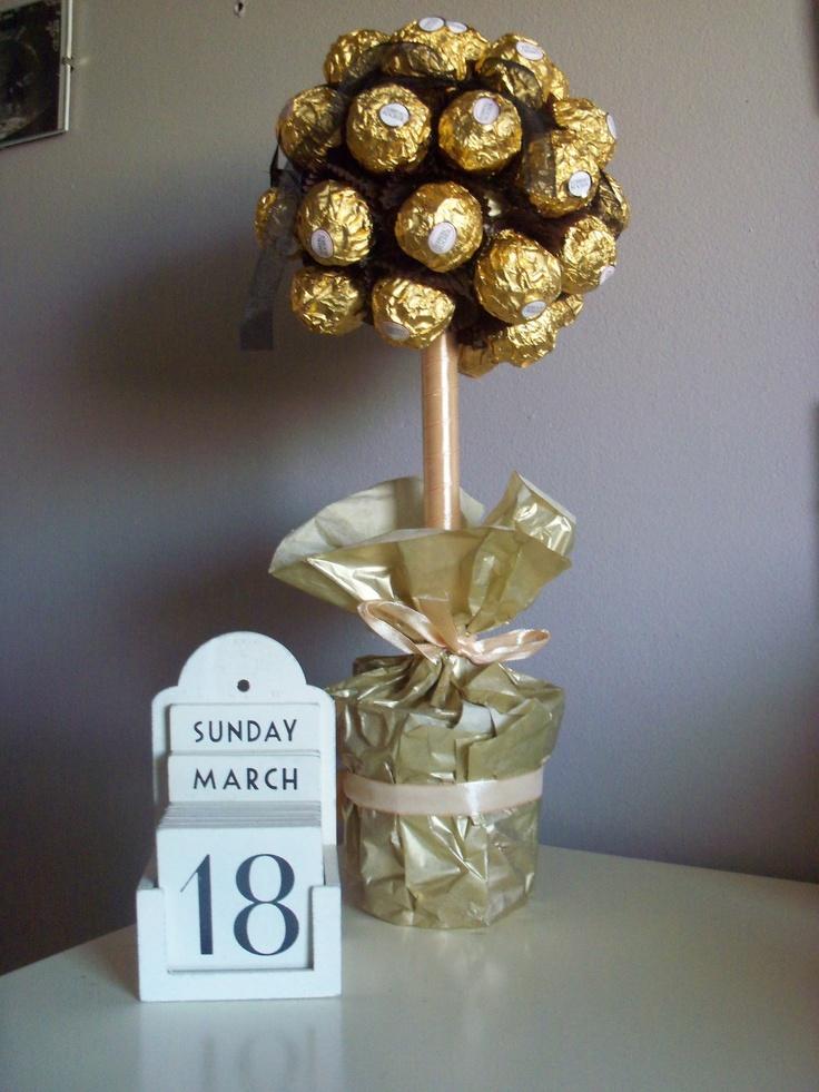 Ferrero tree centre piece