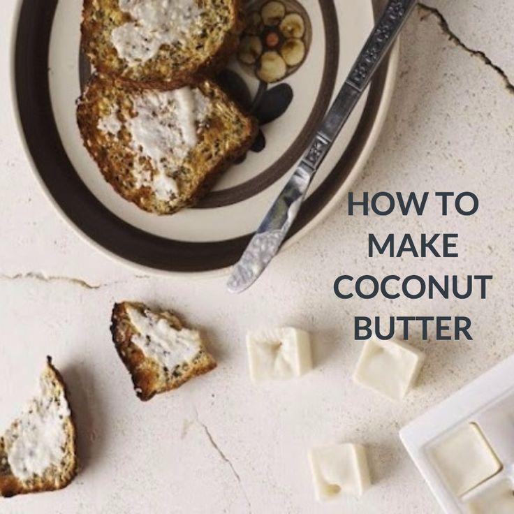 how to make coconut butter in nutribullet