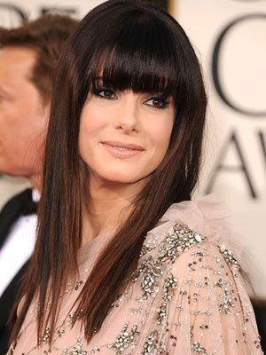 Long Dark Hair With Layers And Full Bangs Perrrfecta Fo Me Hair Nails And Beauty Pinterest Hair Hair Styles And Bangs