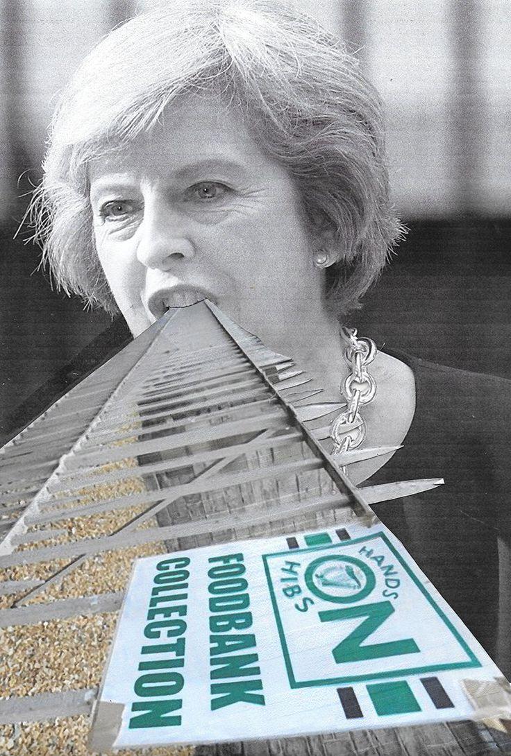 Theresa May, Peter Kennard