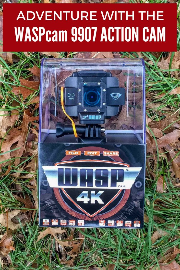The WASPcam action camera takes both excellent video and great still photos.