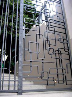 Best 25 Security Gates Ideas On Pinterest Gate Design