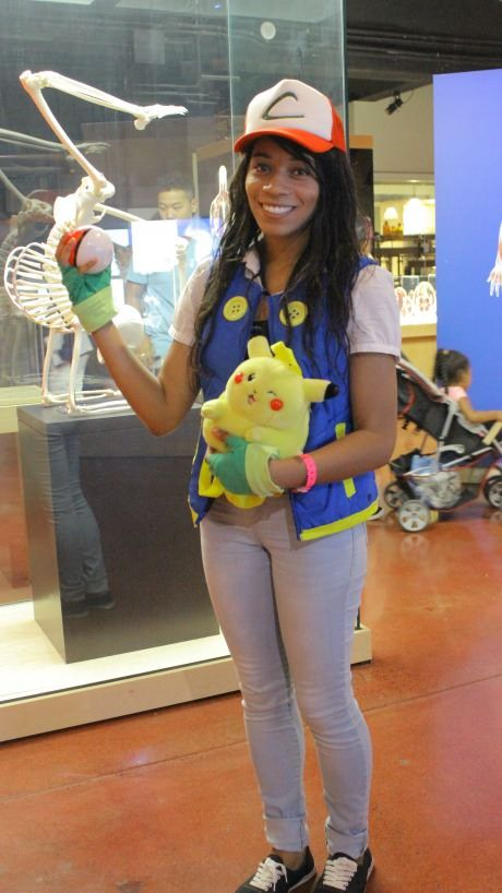Female Ash Ketchum Cosplay