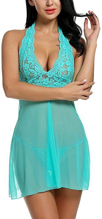 Sammlung Hier Frauen Sexy Unterwäsche Spitze Seide V-ausschnitt Backless Nachtwäsche Versuchung Nachthemden Unterwäsche & Schlafanzug
