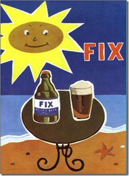 ΦΙΞ μπύρα.