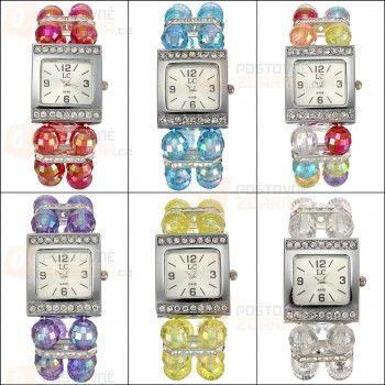 Korálkové dámské hodinky a poštovné ZDARMA!