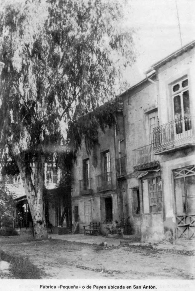 Fabrica de Seda pequeña o de Payen en S. Antón fta. Museo Huertano de Murcia