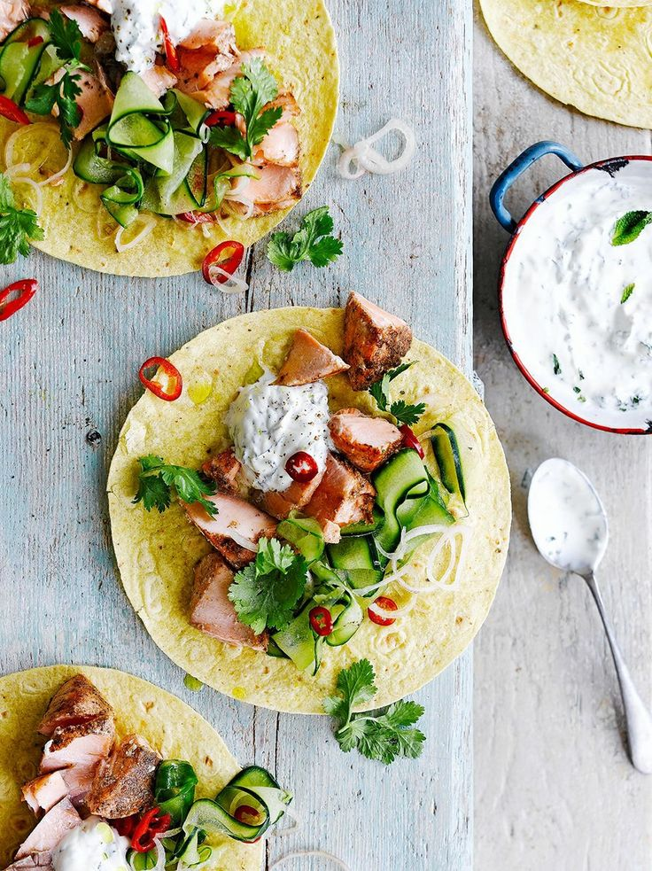 Salmon Taco - by Jamie Oliver