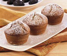 Muffin di saraceno con prugne al cognac - Tutte le ricette dalla A alla Z - Cucina Naturale - Ricette, Menu, Diete
