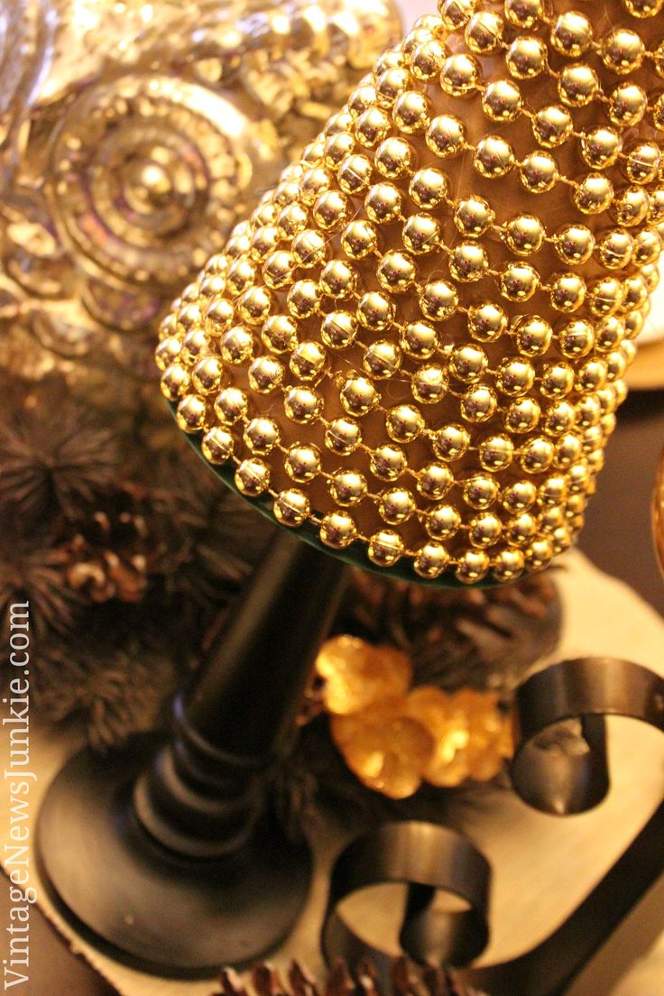 How to Make a Christmas Tree with Beads