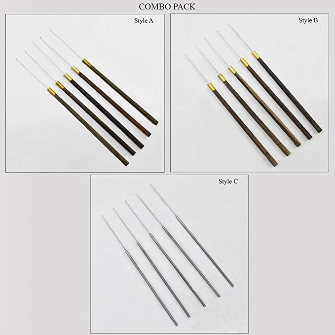 5 Needles per Packet Hand Embroidery Needles for Aari Embroidery Technique Style:-A