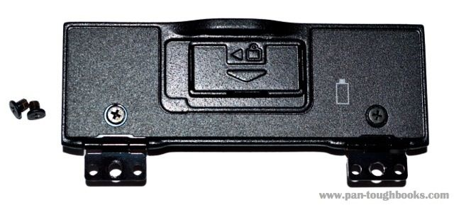 Panasonic Toughbook Battery Door Cover. P/N: DFKE0804. Compatible with the Panasonic Toughbook CF-29. Available for purchase at www.pan-toughbooks.com #Toughbook