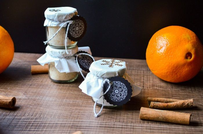 Weihnachtlicher Zimt-Orangen-Zucker