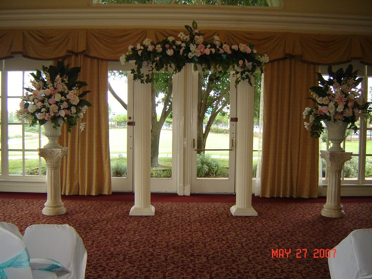 1000 Ideas About Wedding Columns On Pinterest