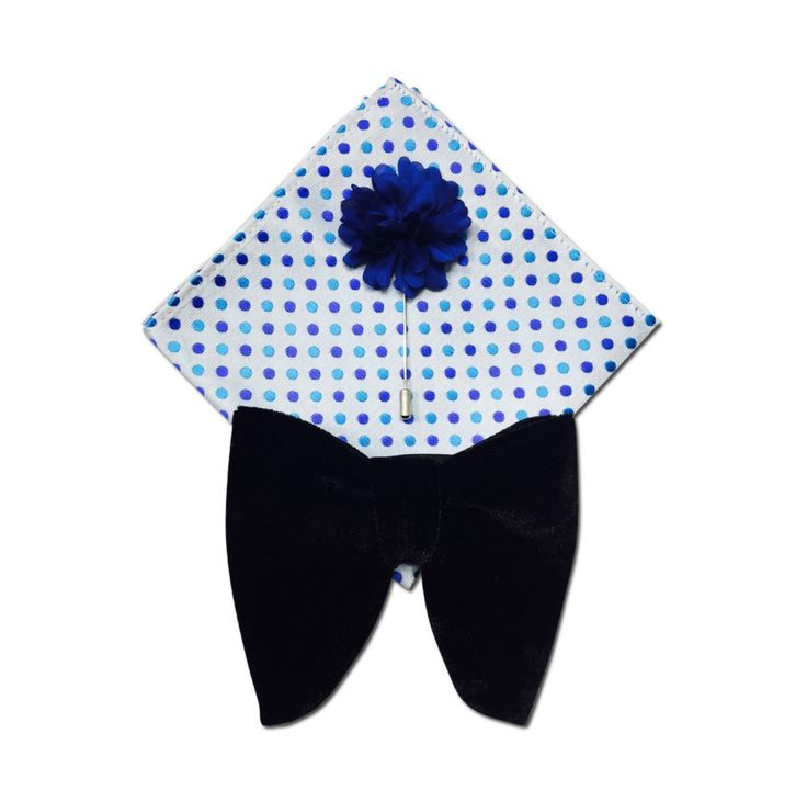 Handkerchief - Teal (bluish green) base, tiny, dense, white dots Notch