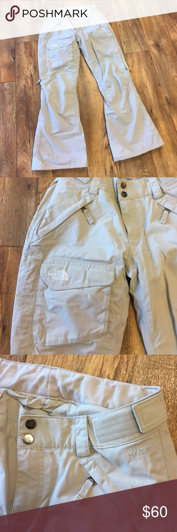The North Face Tan Hyvent Ski Pants Excellent condition! Awesome deal!! The North Face Pants