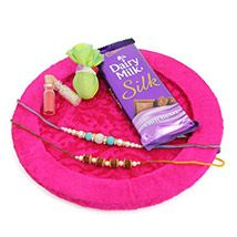 Silk With Rakhis
