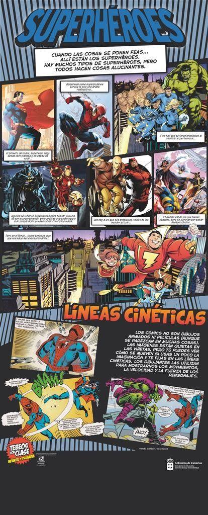 TEBEOS CON CLASE (PRIMARIA) Superhéroes