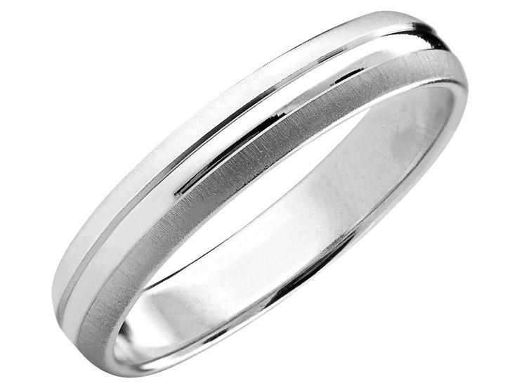 Obrączka srebrna | Apart