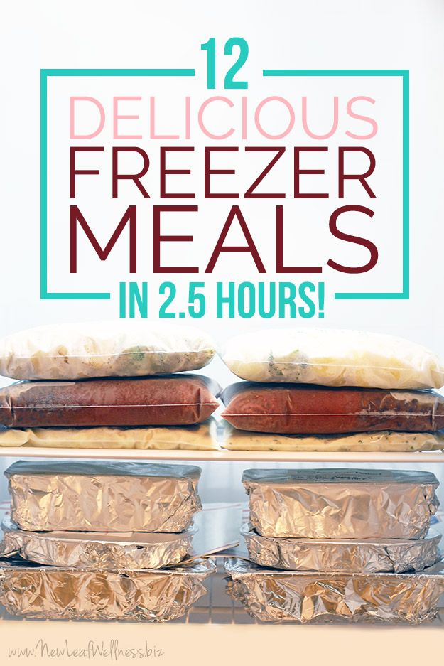 Want to eat homemade dinners without all the work? Stock your freezer with these easy and delicious freezer meals. Free grocery list included! | www.thirtyhandmadedays.com