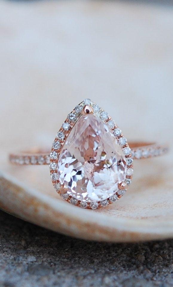 Best 25 Peach engagement rings ideas on Pinterest  Peach