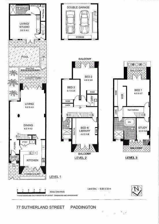 Terrace House In Sydney Australia 187 Contemporist