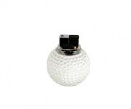 ACCENDINO PALLA GOLF. Accendino in resina a forma di pallina da golf.