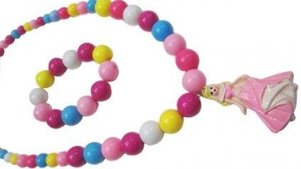 Fancy Beads Necklace and Bracelet Set for Baby Girls.#jewelry #kidsjewelry #fancyjewelry #fancyjewelryindia #babystyle #babyfashion #colorfuljewelry #shopmall #girlsjewelry #pinkblueindia