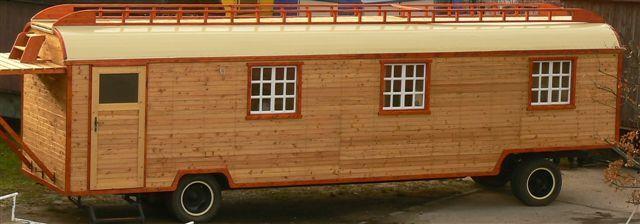 Wagen 10 - Atelier mit Dachterrasse - Neuaufbau 2007