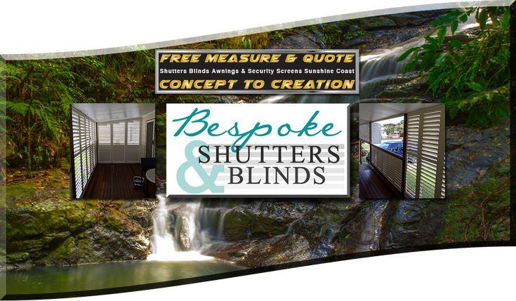 Best Shutters Blinds Awnings Security Screens Sunshine Coast Noosa Caloundra Bespoke 3 Shutter Blinds Shutters Blinds