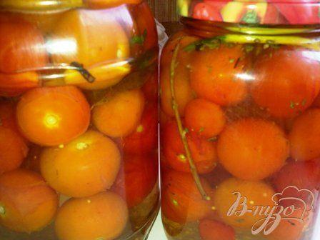 Маринованные помидоры черри - пошаговый рецепт с фото