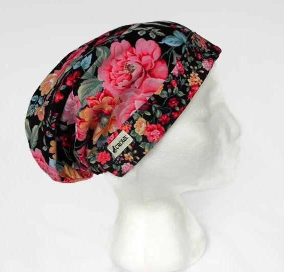 Womens Scrub Hat Scrub Cap Medical Scrub Hat by CroweScrubCaps