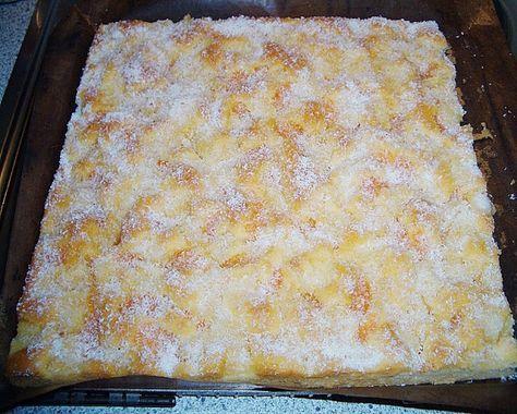 Backen - Kochen & Genießen: Erfrischender Ananas Mandarine Blechkuchen