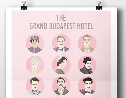 "Check out new work on my @Behance portfolio: ""THE GRAND BUDAPEST HOTEL"" http://on.be.net/1HFj7lF"