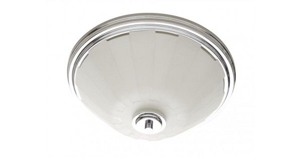 Satin Frosted Reeded Glass Bowl Flush Mount by Artcraft | Montreal Lighting & Hardware #lighting #'éclairage