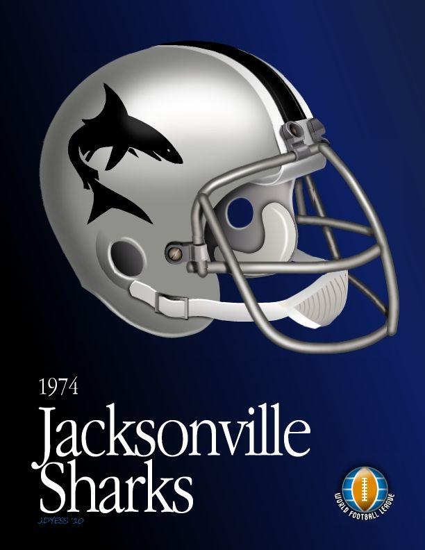 WFL Jacksonville Sharks by jadyess on deviantART