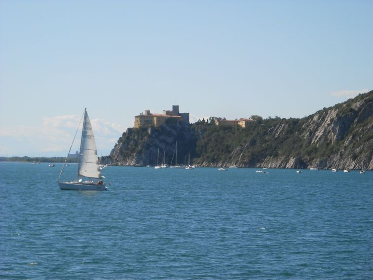 Duino Castle from the boat