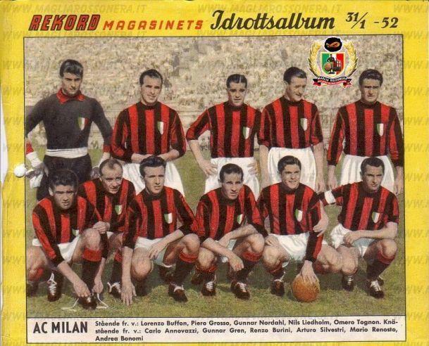 Milan Stagione 1951-52