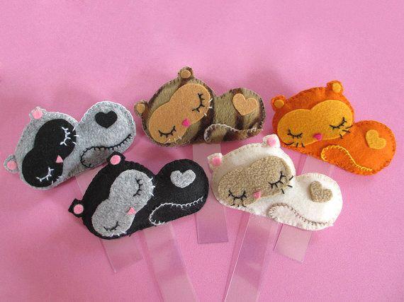 Cute kittens bookmarks, made of felt