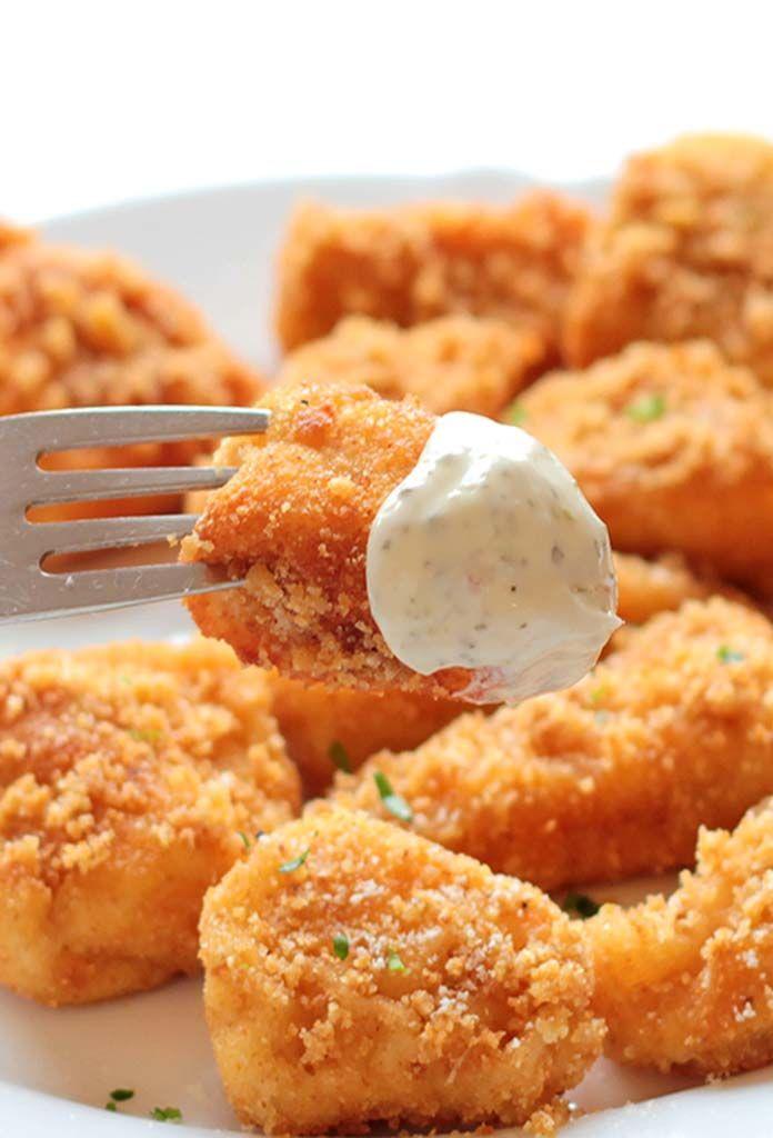 Baked Parmesan Chicken Biites #chicken #foodporn #dan330 http://livedan330.com/2015/04/08/baked-parmesan-chicken-bites/
