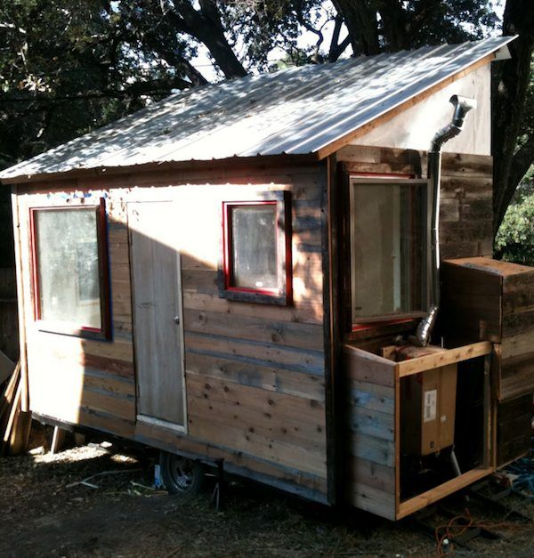 ravishing tiny trailer house. DIY Tiny House on a Trailer for  5 500 48 best Eco Barrio Flotante images Pinterest Small homes Micro