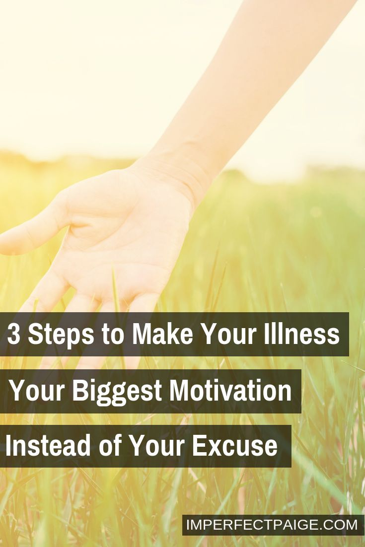 Stop Making Excuses | Chronic Pain | Eating disorder