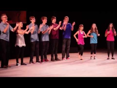 Body percussion piece- San Francisco School Orff Ensemble @ 4th IBMF San Francisco CA 2011 - YouTube