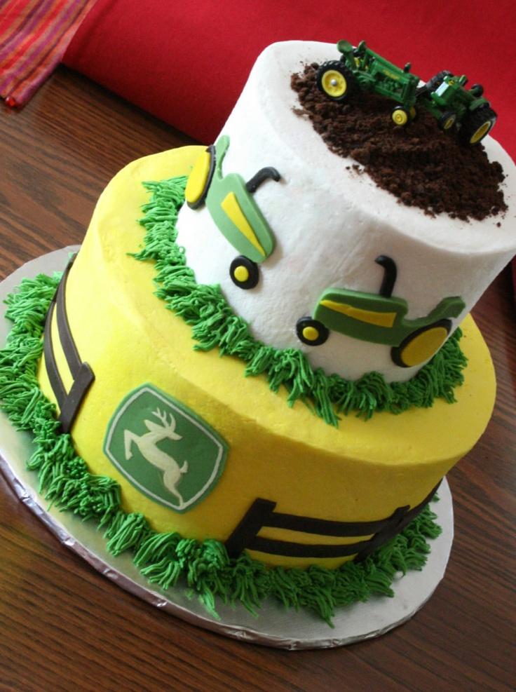 D John Deere Tractor Cake