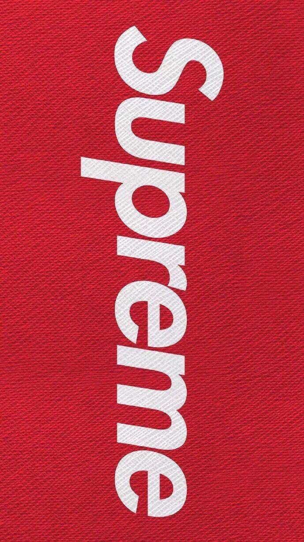 Supreme // Fond d'ecran // Iphone Wallpaper // Tendance // Logo // Fashion // clothing // Life Style