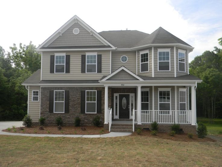 17 best images about house exteriors on pinterest 3 car for 3 car side load garage